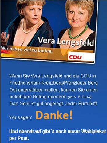 Lengsfeld Werbung